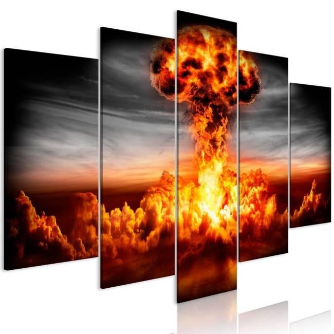 Obraz - Eksplozja (5-częściowy) szeroki