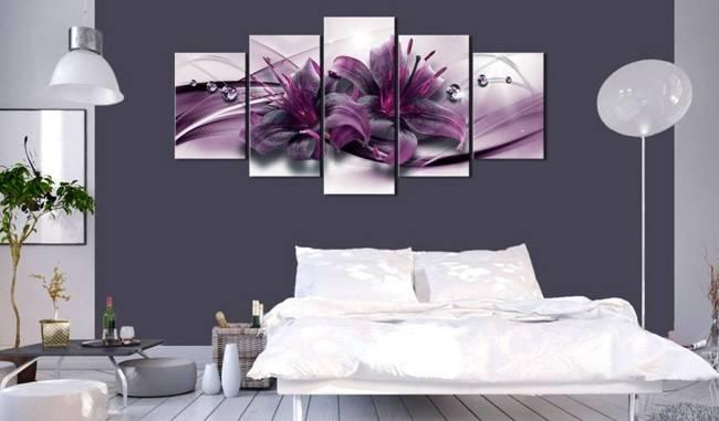 Obraz - Fioletowa lilia