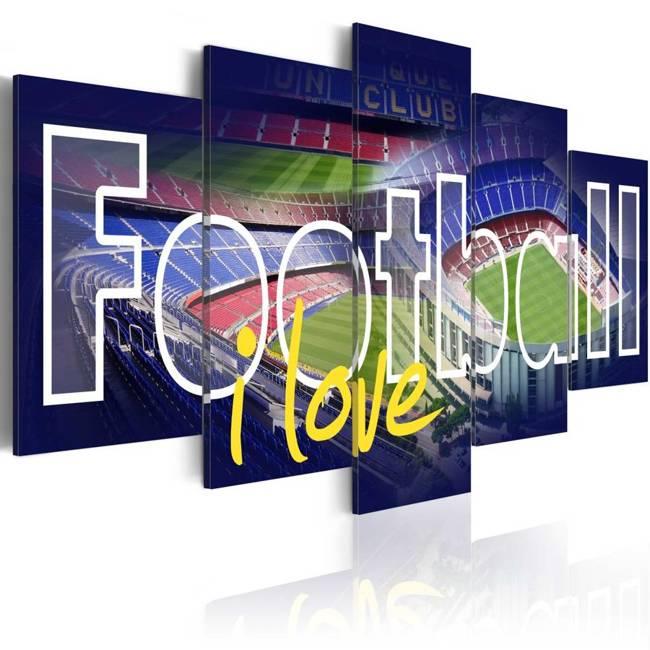 Obraz - Football moja miłość
