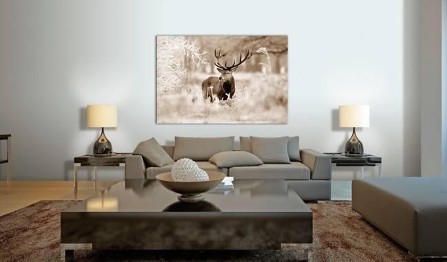 Obraz - Jeleń w sepii