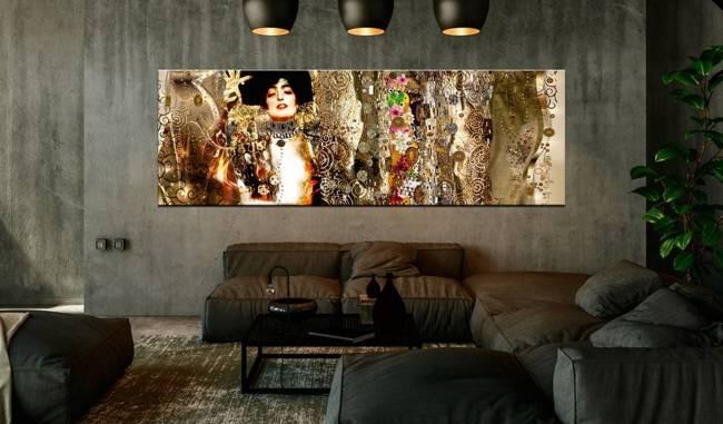 Obraz - Judyta i kwiaty (1-częściowy) wąski