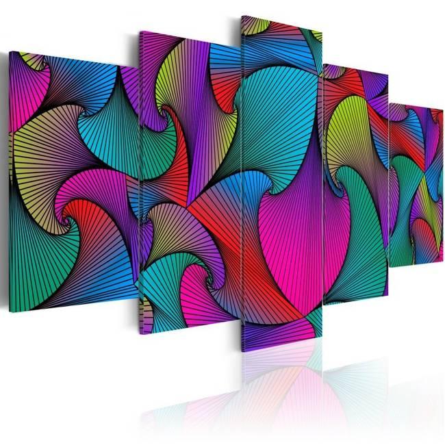 Obraz - Karuzela kolorów