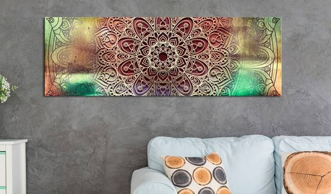 Obraz - Kolorowa Mandala