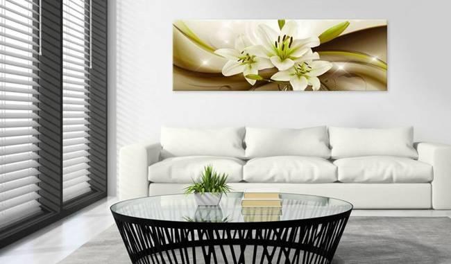 Obraz - Kuszenie lilii