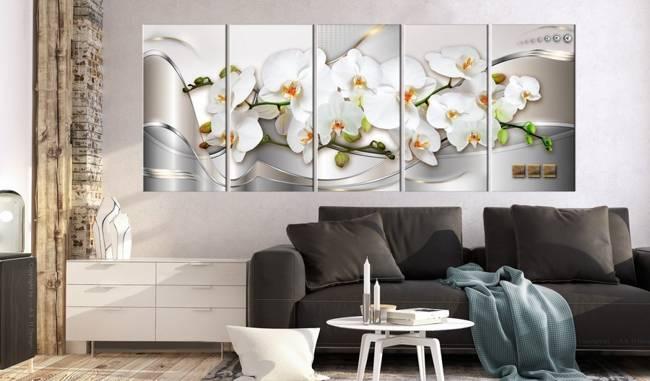 Obraz - Kwitnące storczyki
