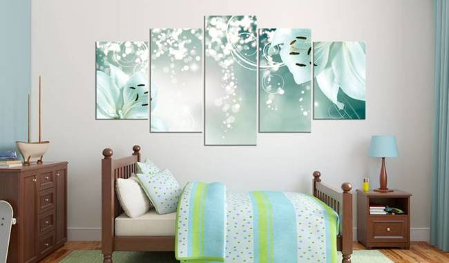 Obraz - Magiczna zielona kompozycja