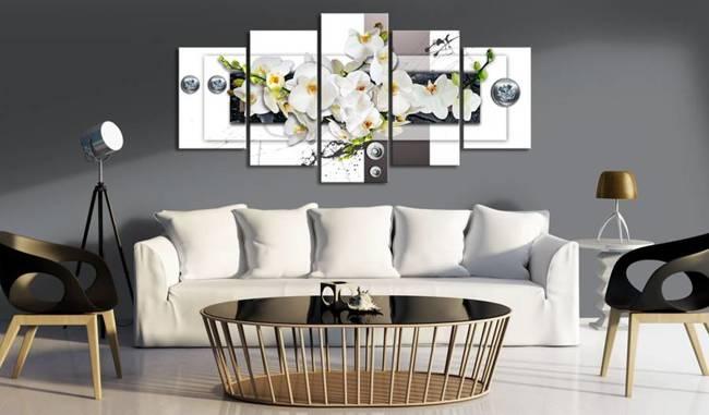 Obraz - Mechaniczna orchidea