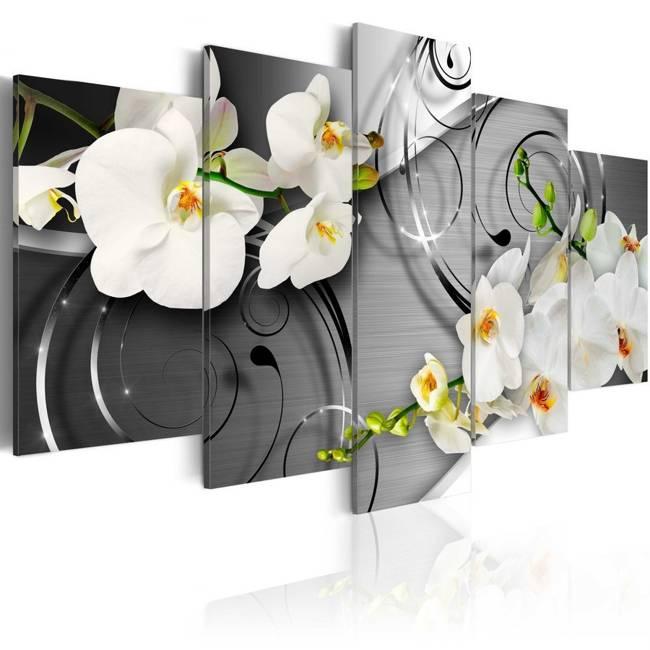 Obraz - Mleczne orchidee