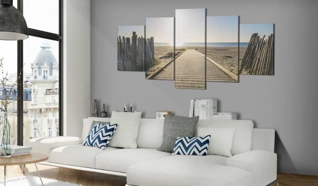 Obraz - Morska promenada