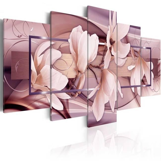 Obraz - Nastrojowe kwiaty