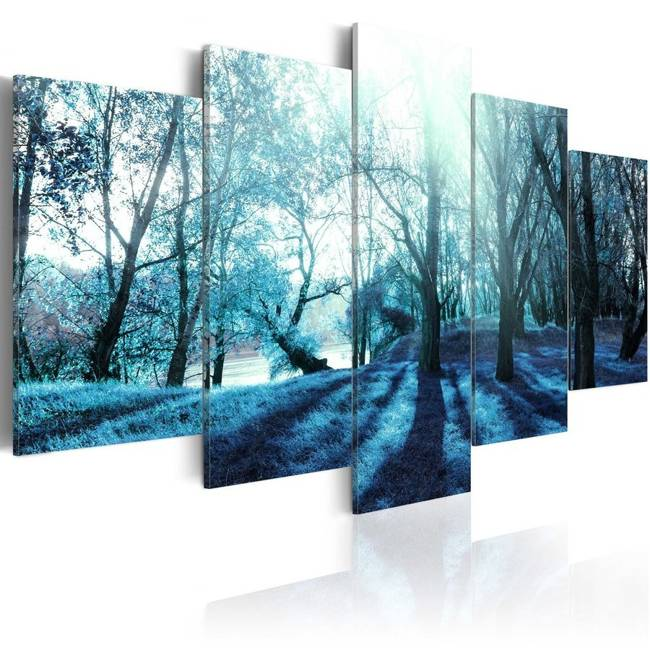 Obraz - Niebieska polanka