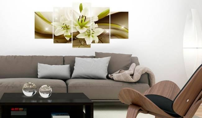 Obraz - Nowoczesna lilia
