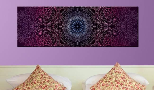 Obraz - Purpurowa Mandala