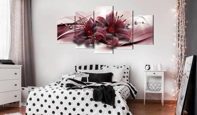 Obraz - Różowa lilia