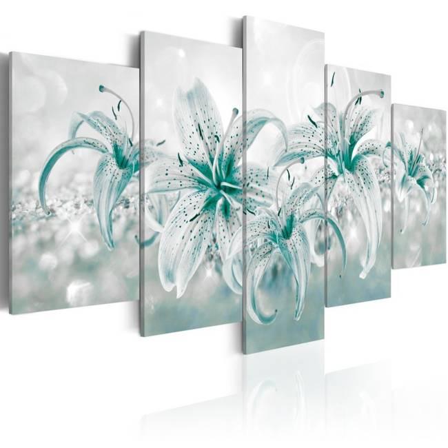 Obraz - Szafirowe lilie