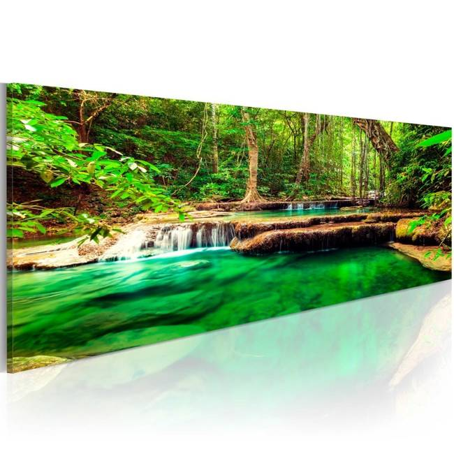 Obraz - Szmaragdowy Wodospad