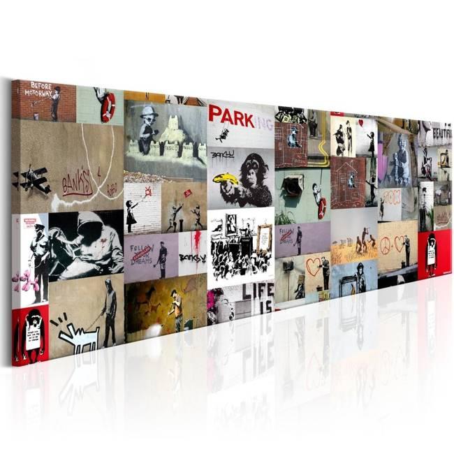 Obraz - Sztuka kolażu: Banksy II