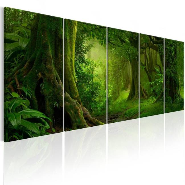 Obraz - Tropikalna dżungla
