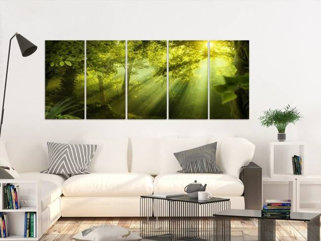 Obraz - W blasku słońca (5-częściowy) wąski
