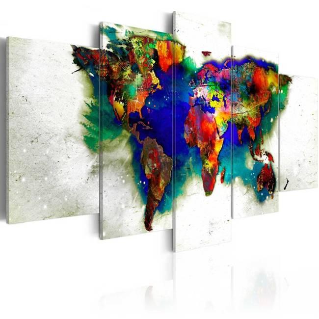 Obraz - Zielona planeta
