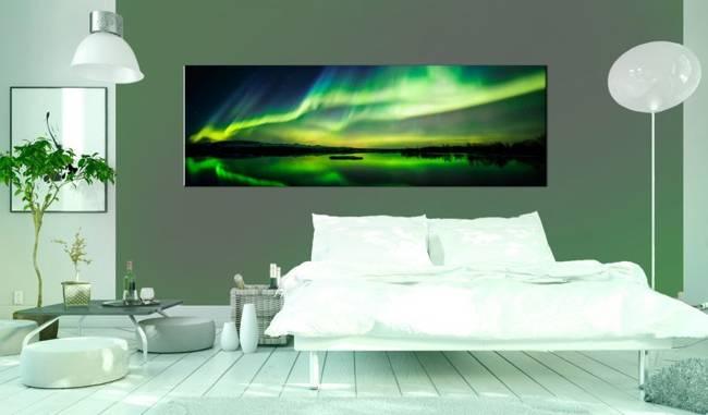 Obraz - Zielone niebo