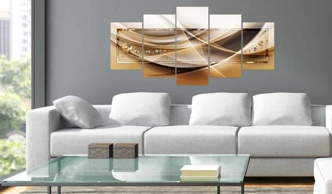 Obraz - Złota rama