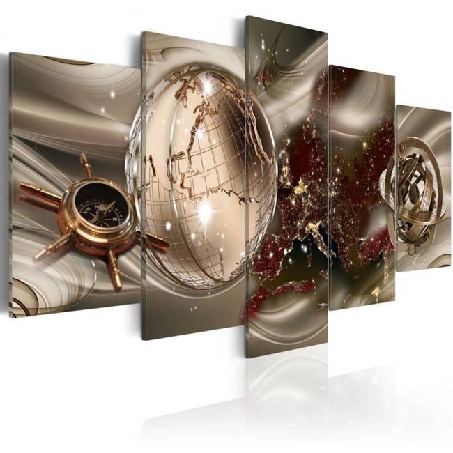 Obraz - Złoty kompas
