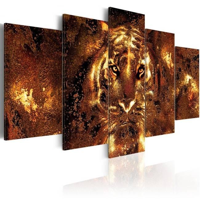 Obraz - Złoty tygrys