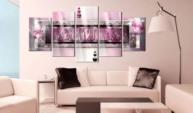 Obraz na szkle akrylowym - Cyklamenowy sen [Glass]