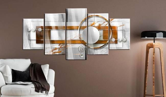 Obraz na szkle akrylowym - Orzechowa energia [Glass]