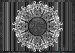 Fototapeta Ażurowy wzór na ciemnym tle 2522