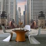Fototapeta - Chicago street