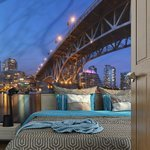 Fototapeta - Granville Bridge - Vancouver (Kanada)