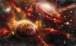Fototapeta Kolorowy kosmos 2734
