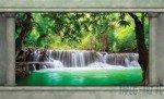 Fototapeta Magiczny wodospad 2872