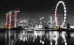 Fototapeta Panorama miasta nocą 2025
