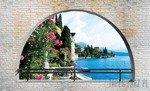 Fototapeta Widok na jezioro Como 2840
