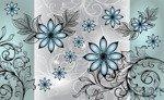 Fototapeta Wzór kwiatowy 1246