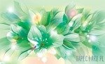 Fototapeta Zielone kwiaty 766