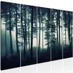 Obraz - Mroczny las (5-częściowy) wąski