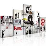 Obraz - Street Crimes: Banksy Art