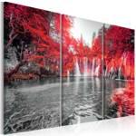 Obraz - Wodospady rubinowego lasu