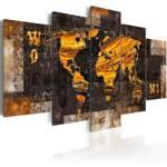 Obraz - Złote ścieżki